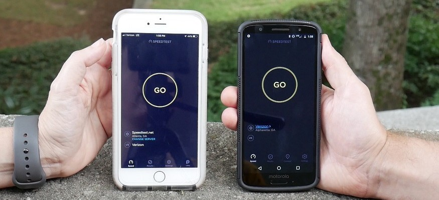 Total Wireless vs  Verizon speed test: Which is faster