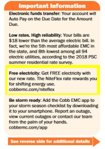 free electricity offer