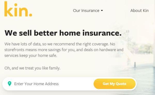 kin insurance screenshot