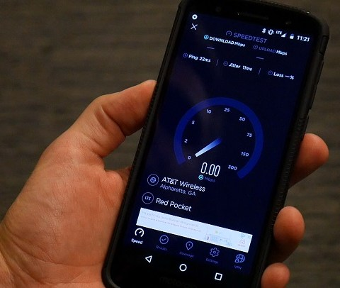 Speed test: Cheap cell phone plan that runs on AT&T's network