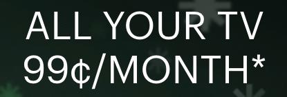 Hulu 99 cent deal