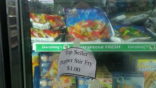 Here are the best-selling $1 frozen and refrigerated items