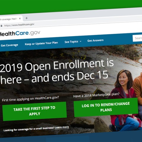 2019 health care open enrollment deadline