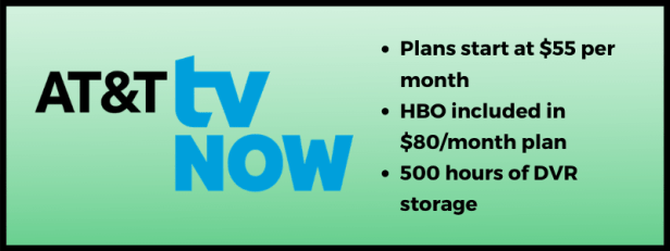 AT&T TV Now streaming plans