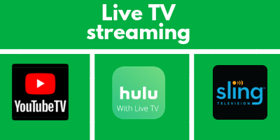 Live TV streaming - Great Saver Track