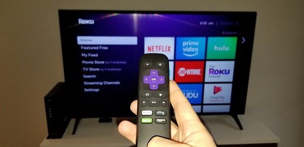 Basic setup: Internet, TV and Roku Express streaming device
