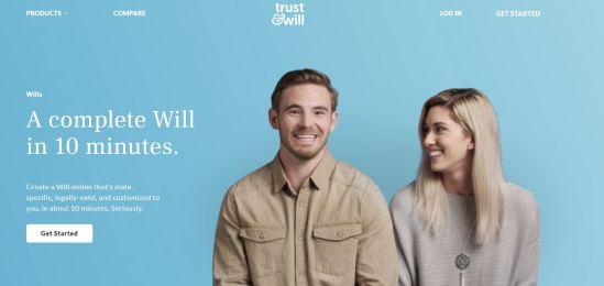 Trust and Will screenshot