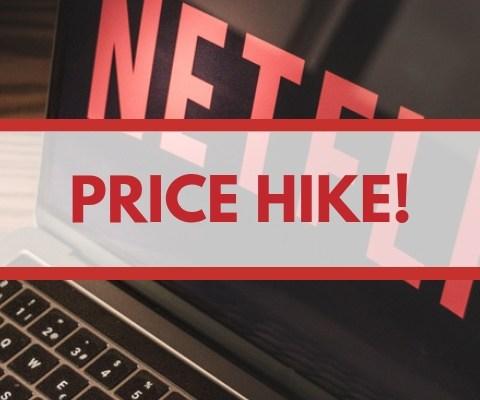 netflix price hike