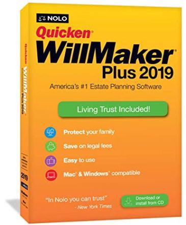 nolo quicken willmaker plus 2019