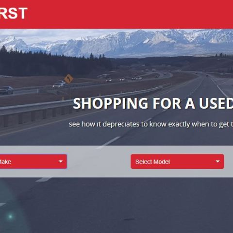 UsedFirst.com shows car shoppers the best value based on depreciation