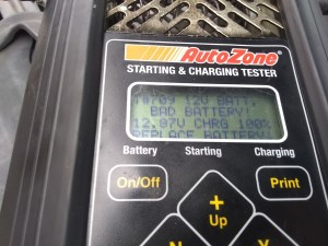 autozone battery test 6