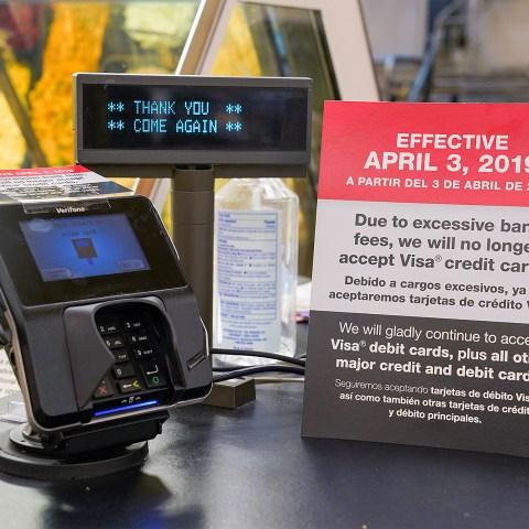 Kroger Smith's Visa ban
