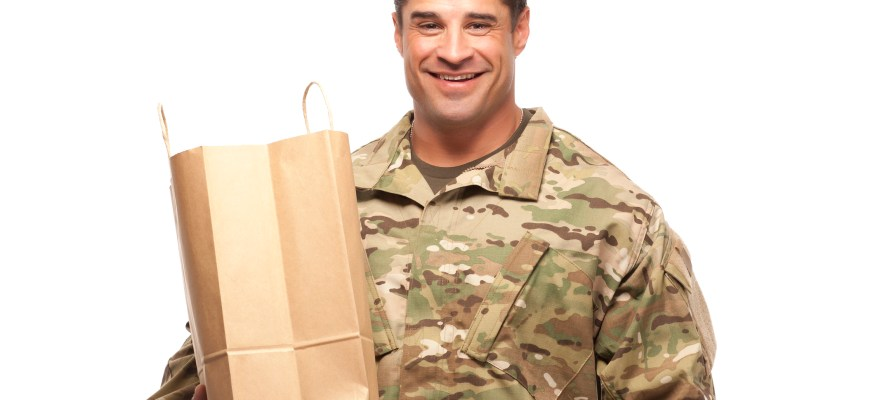 What stores offer military discounts year-round?