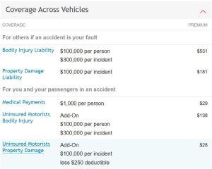 Travelers uninsured motorist coverage