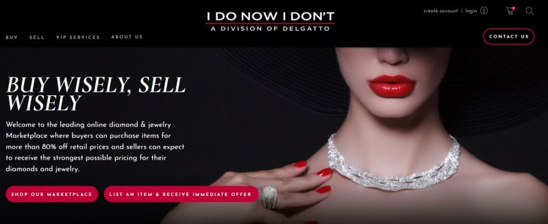 IDoNowIDont.com is the leading online diamond & jewelry marketplace where sellers can receive the strongest possible pricing for their diamonds and jewelry.