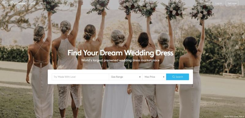 StillWhite.com offers the world's largest preowned wedding dress marketplace online.