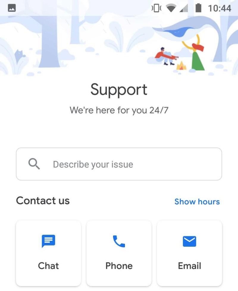 Google Fi customer support options