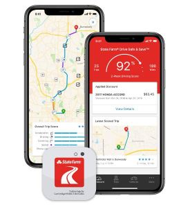 state farm drive safe & save app on mobile phone