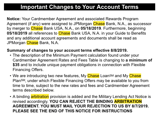 Big change coming to Chase credit cards: Should you opt out? - Clark