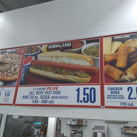 costco hot dog
