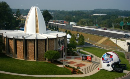 NFL hall of fame in canton ohio