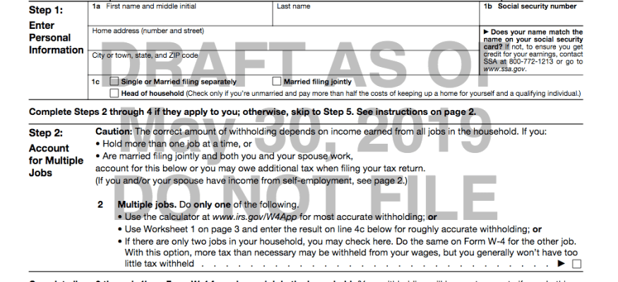 The IRS is rolling out a new W-4: What you need to know