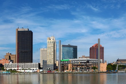 A View of the Toledo, Ohio skyline