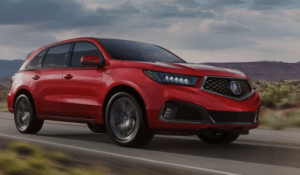 best American-made cars of 2019 - Acura MDX