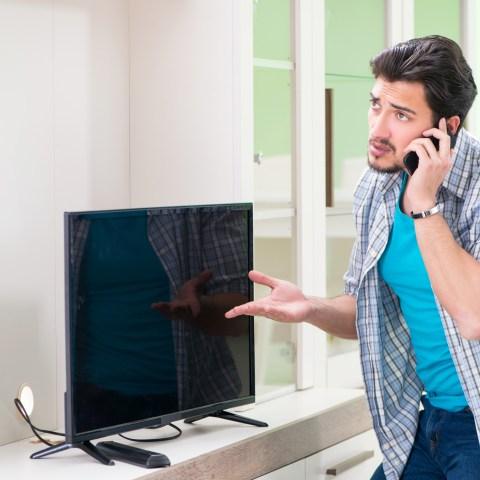 Home warranty/broken TV