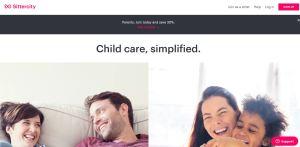 SitterCity homepage