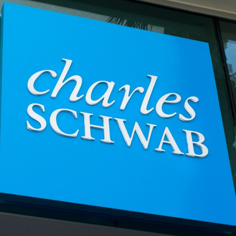 Charles Schwab sign
