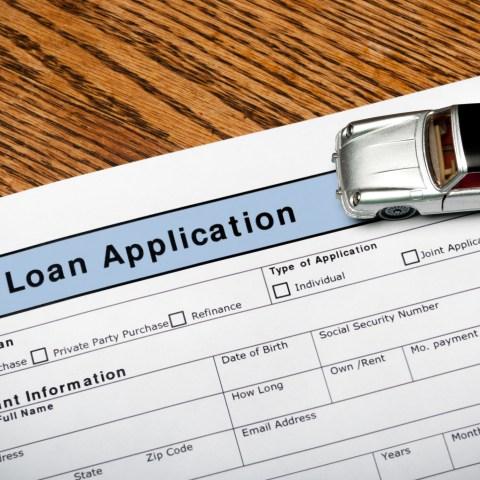 Auto Loan Application