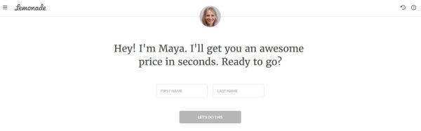 Lemonade Insurance AI chatbot Maya