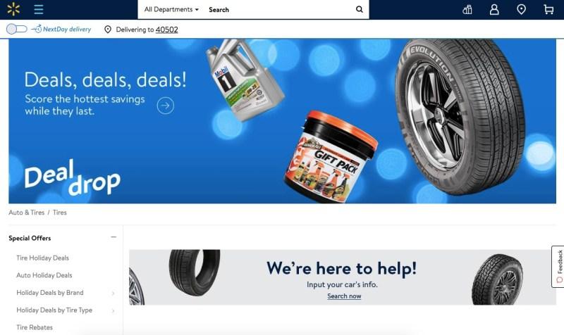 Walmart Tires