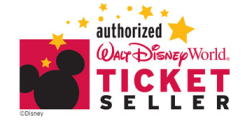 authorized Walt Disney World ticket seller emblem