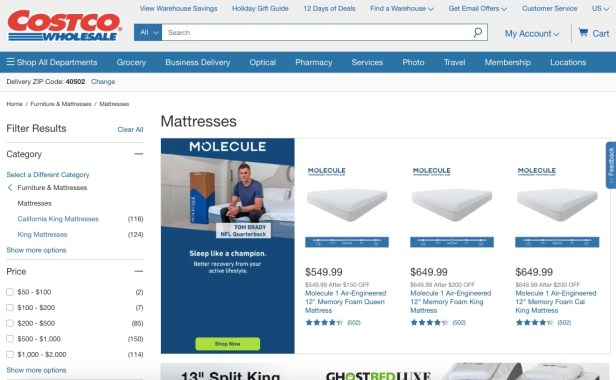 Costco Mattresses