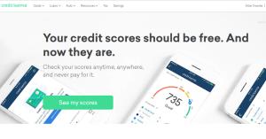 Credit Karma homepage