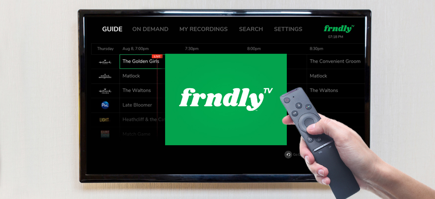 Frndly TV: Cheap live TV streaming service featuring Hallmark, Weather Channel, Game Show Network and more