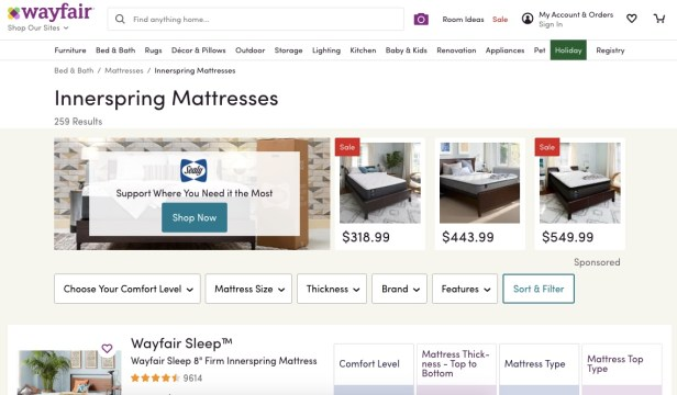 Wayfair Mattresses