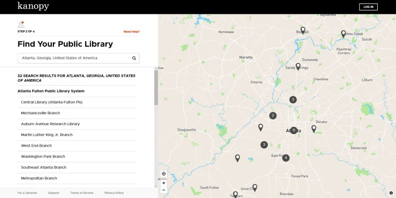Kanopy has a search option to see if your library is eligible.
