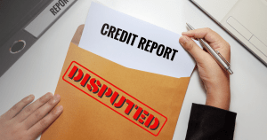 Dispute Error on Credit Report