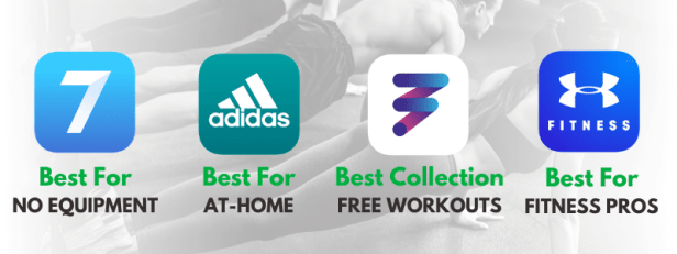 Free fitness apps including 7 minute workouts, Adidas and more