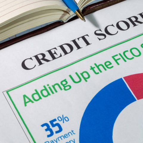 Credit score - adding up the FICO score