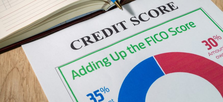 Credit score - adding up the FICO score