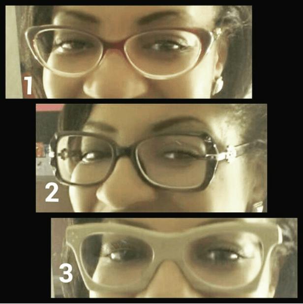 A few pairs of Nicole's Zenni Optical glasses