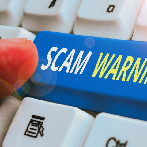 Common work-at-home job search scams
