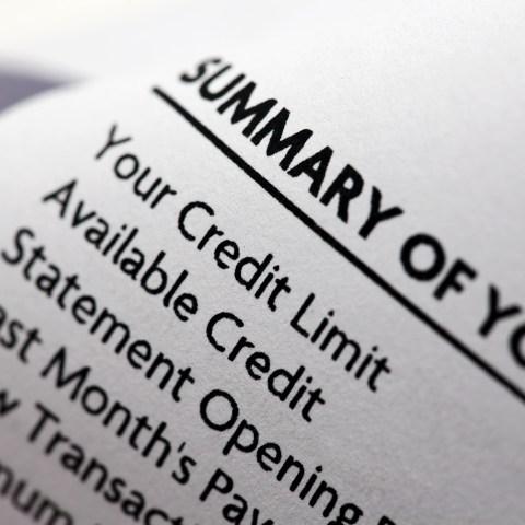 Credit Card Statement