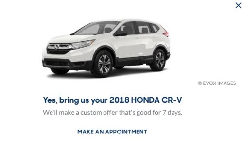 CarMax Used Car Offer