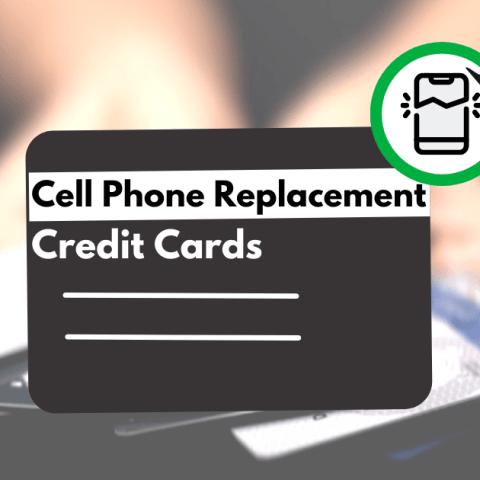 Some credit card companies will replace your cell phone for free.
