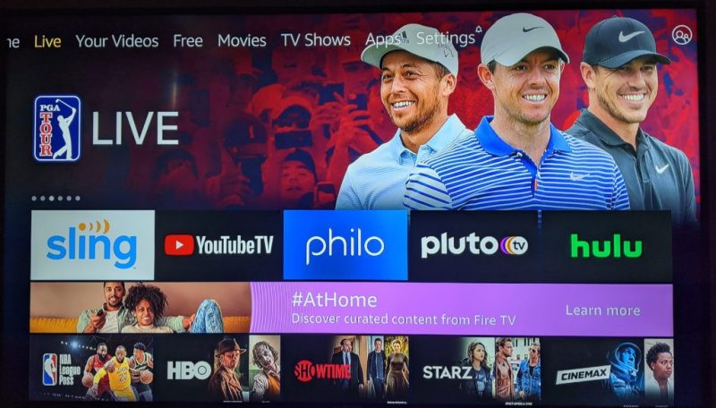 Amazon Fire TV now integrates live streaming from YouTube TV, Hulu and Sling.